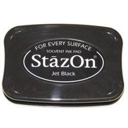 Jet Black StazOn Ink Pad [SZ31]