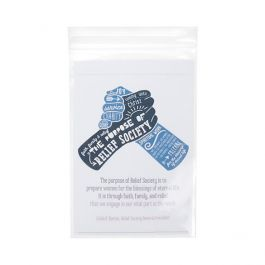 "4"" x 6"" Crystal Clear Zip Bags, 3 mil (100 Pieces) [Z3C46]"