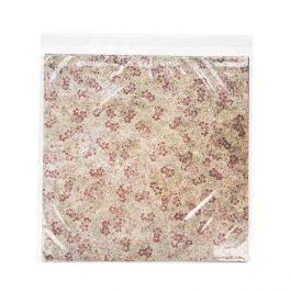 """12 1/2"""" x 12 1/2"""" Crystal Clear Zip Bags, 2 mil (100 Pieces) [ZC12H]"""