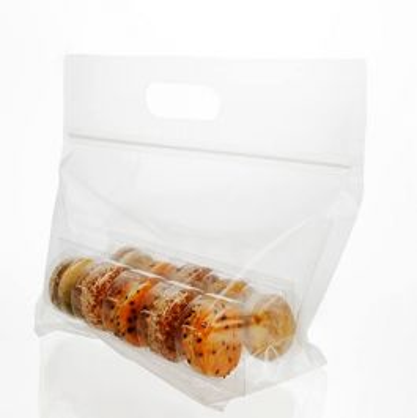 Macaron Zip Handle Bag Set for 10 (100 Sets) [MBG5]