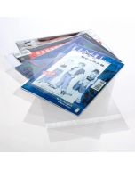"7 1/8"" x 10 5/8"" + Flap (no glue), Crystal Clear Bags® (100 Pieces) [COMIC2NG]"