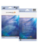"4 1/8"" x 5/8"" x 6 1/8"" Crystal Clear Photo Boxes Retail Pack of 5 (1 Pack) FPB61 [RPAB4X6]"