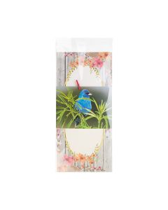 """5 11/16"""" x 12 1/16"""" + Flap, Crystal Clear Bags® (100 Pieces) [B512]"""