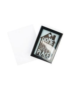 """6 1/4"""" x 8 1/16"""" No Flap, Crystal Clear Bags® (100 Pieces) [B86SNF]"""