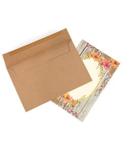 "A9 8 3/4"" x 5 3/4"" Brown Bag Envelopes (50 Pieces) [EB40]"