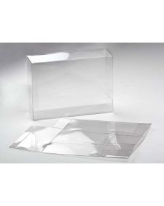 "5 3/8"" x 2 1/2"" x 7 3/8"" Crystal Clear Boxes® (25 Pieces) [FB112]"