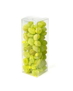 """2 1/16"""" x 2 1/16"""" x 6 1/8"""" Crystal Clear Pop & Lock Boxes (25 Pieces) [PLB327]"""