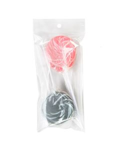 """3"""" x 6"""" Crystal Clear Zip Bags + Round Hang Hole + Vent, 2 mil (100 Pieces) [ZR36V]"""