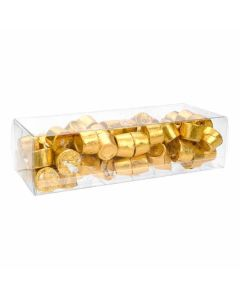 "2 9/16"" x 2"" x 7 1/2"" Crystal Clear Boxes® (25 Pieces) [FPB256]"