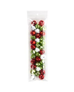 """3"""" x 10"""" Crystal Clear Zip Bags + Round Hang Hole, 4 mil (100 Pieces) [Z4R310]"""