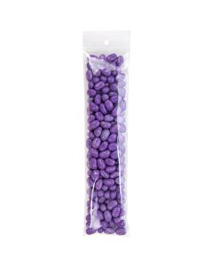 """2 1/2"""" x 10"""" Crystal Clear Zip Bags + Round Hang Hole, 2 mil (100 Pieces) [ZR2H10]"""