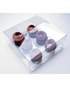 Cupcake box packaging