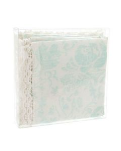 "5 5/8"" x 1"" x 5 9/16"" Crystal Clear Boxes® (25 Pieces) [FPB48]"