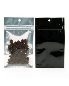 Barrier bag with coffee beans