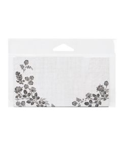 """5 7/8"""" x 2 1/2"""" + Flap, Crystal Clear Hanging Bags (100 Pieces) [HB52]"""