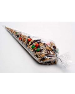 "6"" x 12"" Heavy Duty Laminated Cone Bag (100 Pieces) [HDCB9]"