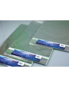 "20 7/16"" x 26 1/4"" Crystal Clear Protective Closure Bags Retail Pack of 25 (1 Pack) [RPA20X26]"