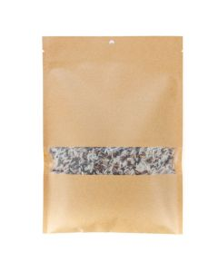 "6"" x 9"" Kraft heat seal bag with rice"