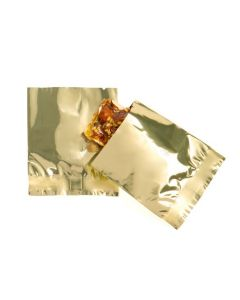 Square 2.0 mil metallic flat sealable bags