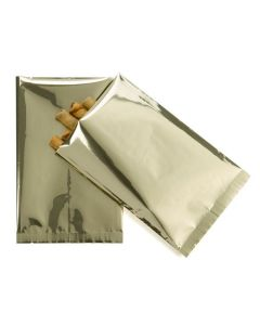 Metallic flat sealable bags