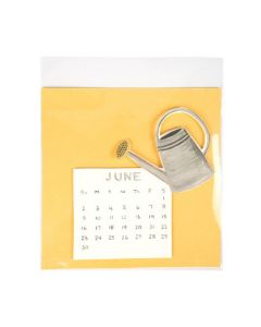 "7 7/8"" x 7 3/4"" Crystal Clear Protective Closure Bags (100 Pieces) [B7X7XPC]"