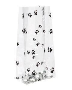 Standing Puppy Paw Treat Bag