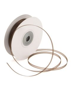 "1/8"" x 150' Chocolate Mono Ribbon (1 Piece) [RIB8CHC]"