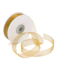 "5/8"" Old Gold Mono Ribbon"