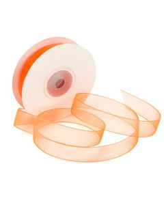 "5/8"" Wide Orange Mono Ribbon"