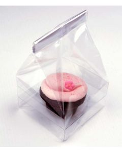 Single cupcake bag with insert
