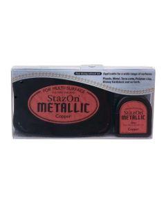 Metallic Copper StazOn Ink Pad and Refill (1 Piece) [SZ193]