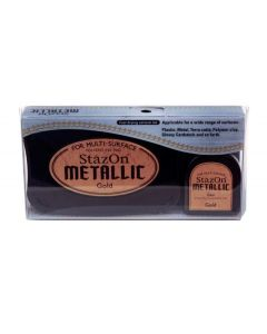 Metallic Gold StazOn Ink Pad and Refill (1 Piece) [SZ191]