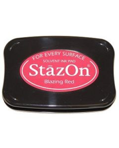 Blazing Red StazOn Ink Pad [SZ21]