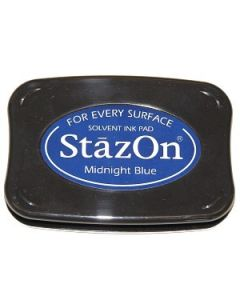 Midnight Blue StazOn Ink Pad [SZ62]
