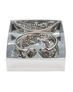 shimmer silver box bottom