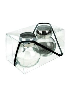 "3"" x 3"" x 5"" Crystal Clear Value Boxes (50 Pieces) [VB299]"