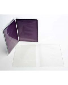 "6 7/8"" x 10 5/8"" Vinyl Wallets for A6 (100 Pieces) [VINA6]"