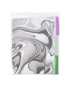 Crystal clear Zip bag with folder dividers