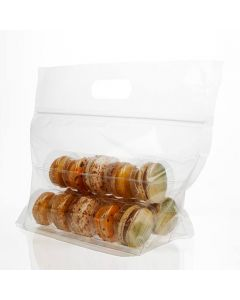 zipper bag macaron set for 15