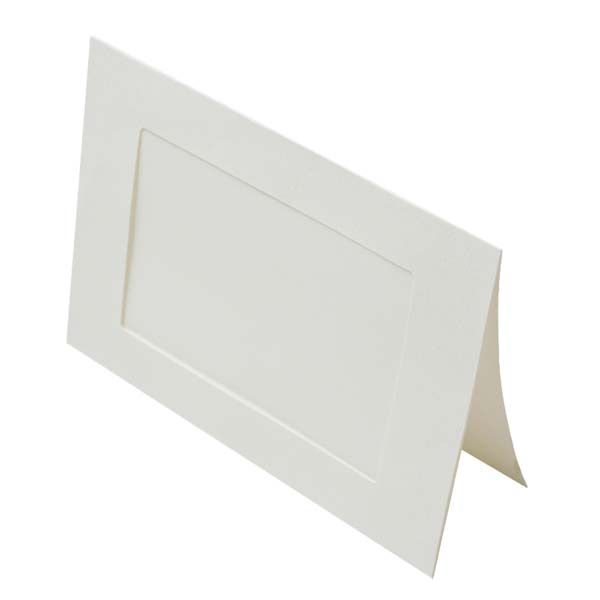 Buy Photo Frame Cards, for 5x7, Natural, 240 gram, Rectangle Window