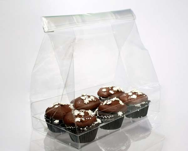 Cupcake Bag Set For Six Minis