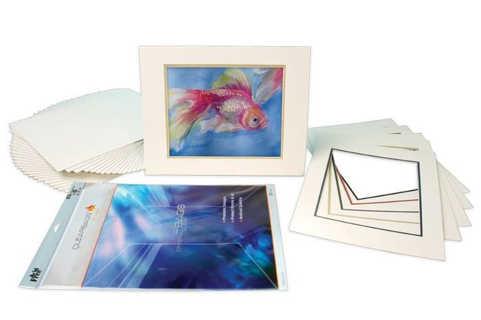 Buy Decorative Mat Back And Bag Kit 8x10 For 5x7 Art Or Photos