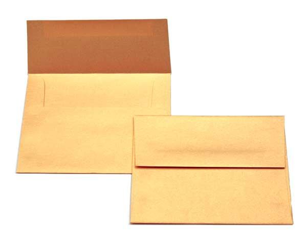 buy stardream metallic envelopes lee a7 size gold 7 1 4 x 5 1 4