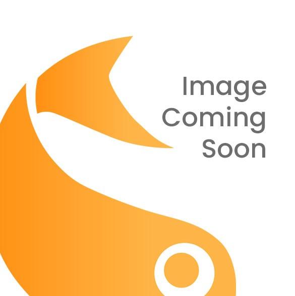 "4 7/8"" x 5/8"" x 6 5/8"" Matte Black Kraft Paper Window Box with Attached PET Sheet, A6 (25 Pieces) [WMBG2]"